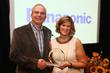 Ron Martin, Panasonic and Barbara Lange, SMPTE
