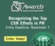 Call for Entries – PR News' CSR Awards 2014