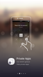 Sky Launcher App's Hide Apps Feature