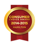 2015 Hamilton Consumer Choice Award Winners