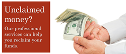 unclaimed assets, unclaimed funds, unclaimed property, California