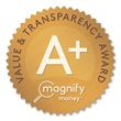 PenFed's Promise Visa® Card Receives A+ Transparency Score Accolade from MagnifyMoney.com