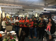 Curacao Panorama Store associates celebrating with American Heart Association