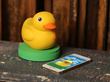 pi lab's Edwin the Duck waddles his way to CES Unveiled New York