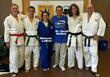 Judo Coaches, Instructors and Dr. Aaron Moffett (Blue T-shirt), Creator and Founder of the DisAbility Sports Festival