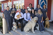 Dana Niguel Veterinary Hospital staff with some happy animal friends.