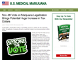 USMedicalMarijuana.net Reports Substantial Potential Increase in Tax...