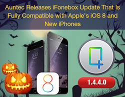 Auntec Releases iFonebox Update That Is Fully Compatible with Apple's iOS 8 and New iPhones