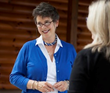 Brookhaven Retreat Meets with Consultant Dr. Lynn Swisher in October