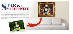 overstockArt.com to Introduce New Star in a Masterpiece Custom Art Service