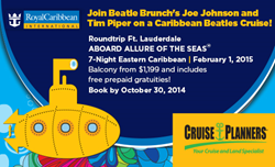Cruise Planners Brings Beatlemania to Allure of the Seas in February