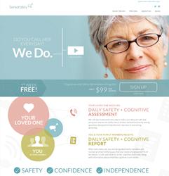 Seniorbility homepage screenshot
