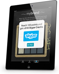 Reach 100 points and earn a $10 Skype Credits