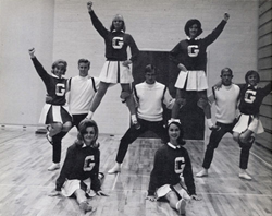 1967 Glendale Community College (AZ) Cheerleaders