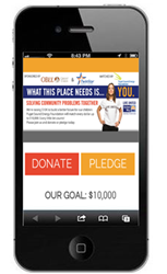 United Way of Thurston County uses CafeGive Social app to launch dollar for dollar match campaign