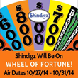 What's in Your Future? According to Wheel of Fortune®, it Could Be a Monster Party from Shindigz®