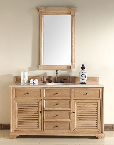Has introduced a guide to unfinished solid wood bathroom vanities from james for Unfinished oak bathroom vanity cabinets