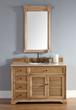 "Savannah 48"" Solid Wood Bathroom Vanity In Natural Oak 238-104-5221 from James Martin Furniture"