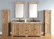 "Providence 72"" Unfinished Bathroom Vanity In Natural Oak 238-105-5721 from james Martin Furniture"