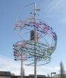 A closer look at Brain Works public art installation