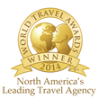 "Rovia Named Both ""North America's Leading Travel Agency"" and ""United States' Leading Travel Agency"" for 2014 by World Travel Awards"