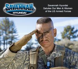 Savannah Hyundai Offers Military Discounts