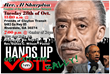 National Action Network Hands Up Vote Rally with Rev. Al Sharpton Tues. OCt. 28th, 2014 7pm