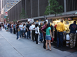 Line at The Halal Guys