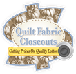 Quit Fabric Closeouts Fall Logo