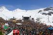 Open air concert at Ischgl, Austria