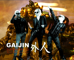 Gaijin Superheroes the band