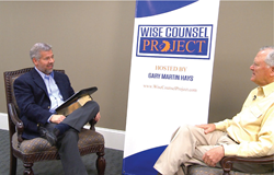 Gary Martin Hays interviews Governor Nathan Deal for the Wise Counsel Project.