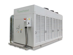 The Azanefreezer has zero GWP and is exempt from EPA R22 phase out legislation