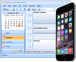 Sync iPhone and Outlook