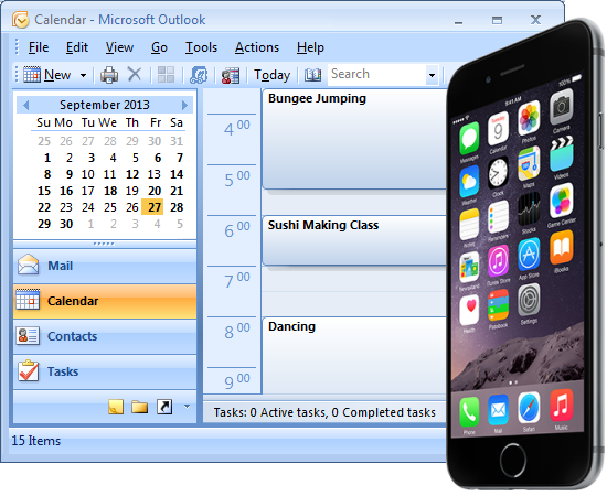 Outlook Calendar On Iphone >> Akrutosync Launches Outlook To Iphone Sync With Contacts Calendar