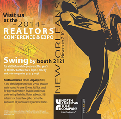 North American Title heads to New Orleans for National Association of Realtors annual conference