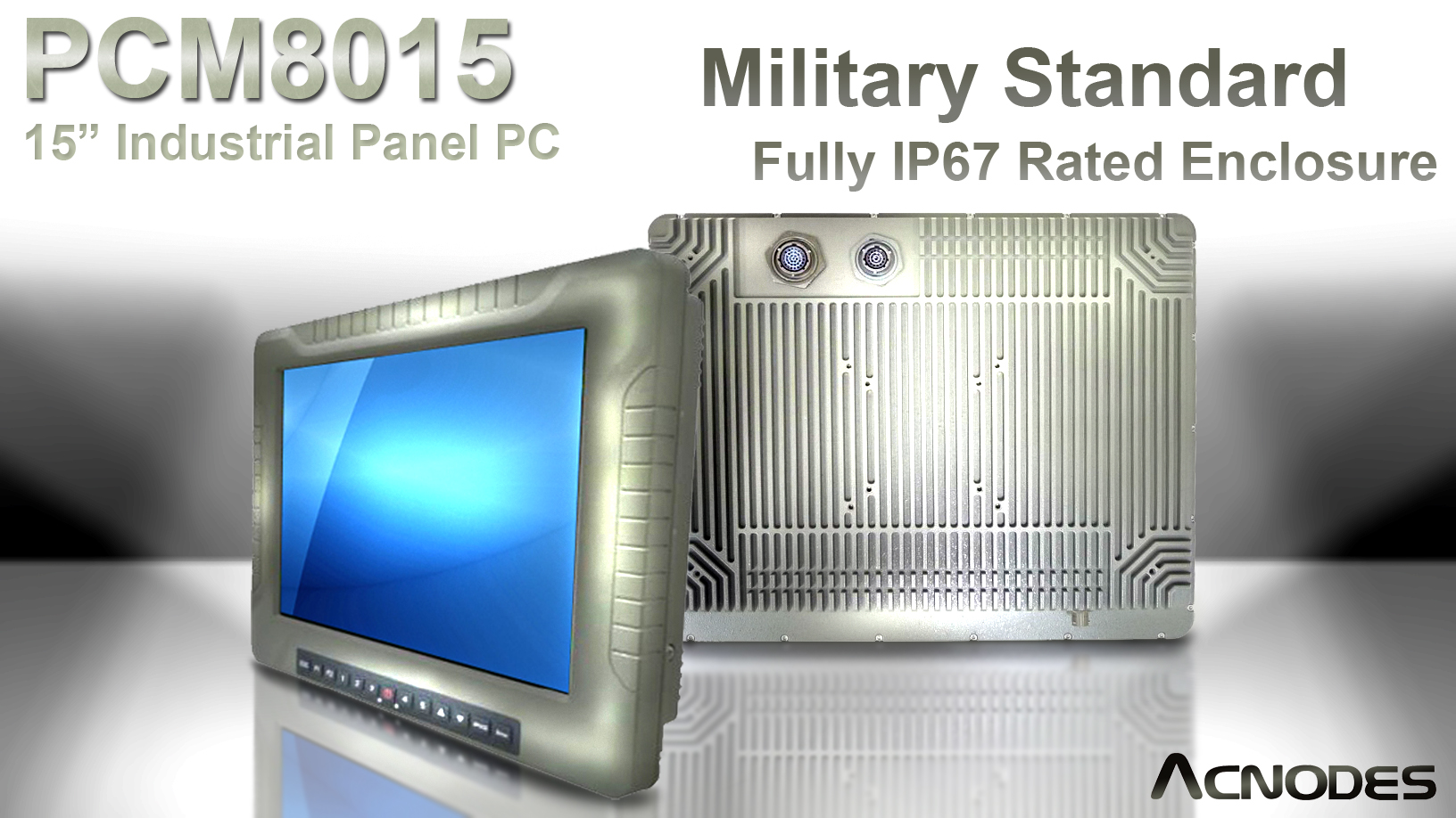 Acnodes New Industrial Panel Pc Features Fully Ip67 Rated