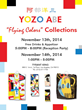 "The exhibition ""FLYING COLORS"" Novevember 13th, 14th"