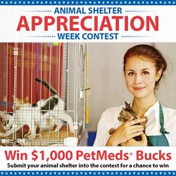 1-800-PetMeds Shelter Awareness Week Contest.