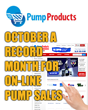 Pump Products Announces Record Pump and Parts Sales in October