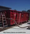 Orlando Dumpster Hauling Service Assists Orlando Suburb