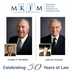 Attorneys Joseph F. Mirabella, Jr., and John B. Kincaid