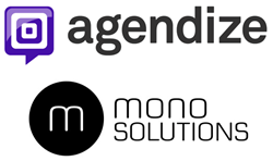 Agendize Online Scheduling integrates with mono solutions mobile-ready website creation platform for SMBs