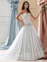 115228,david tuera,wedding gown,style no