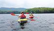 Kayaking at New Life Hiking Spa