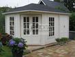 Eurodita corner log cabins