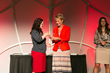 Deborah McGregor receives the Critical Client Award from Eve Gleason on behalf of Care Net Pregnancy Center of Central Texas.jpg