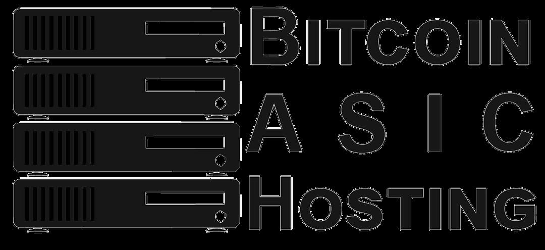 Bitcoin Logo Black Bitcoin Asic Hosting Logo