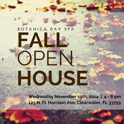 Botanica Day Spa Fall Open House
