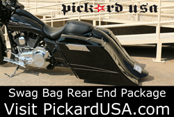 Stretched Saddlebags For Harley Baggers